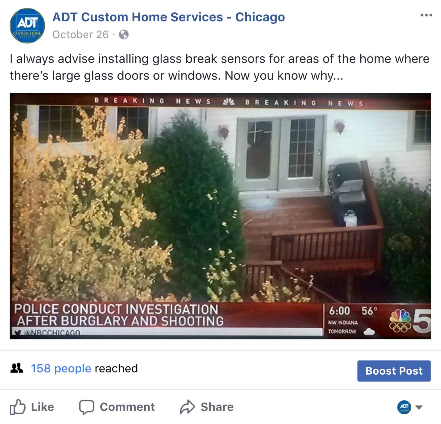 Glass Breaking News