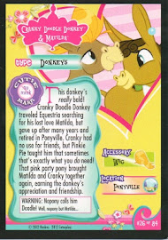 My Little Pony Cranky Doodle Donkey & Matilda Series 1 Trading Card