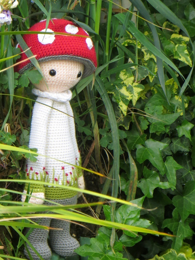 crochet paul the toadstool