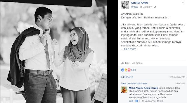 Suami Dijemput Ilahi Ketika Isteri Mengandung 8 Bulan