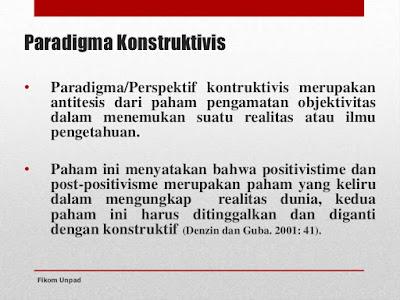 Pengertian Paradigma Konstruktivisme Dan Paradigma Kritikal - Blog Definisi | Pengertian blog-definisi.blogspot.co.id