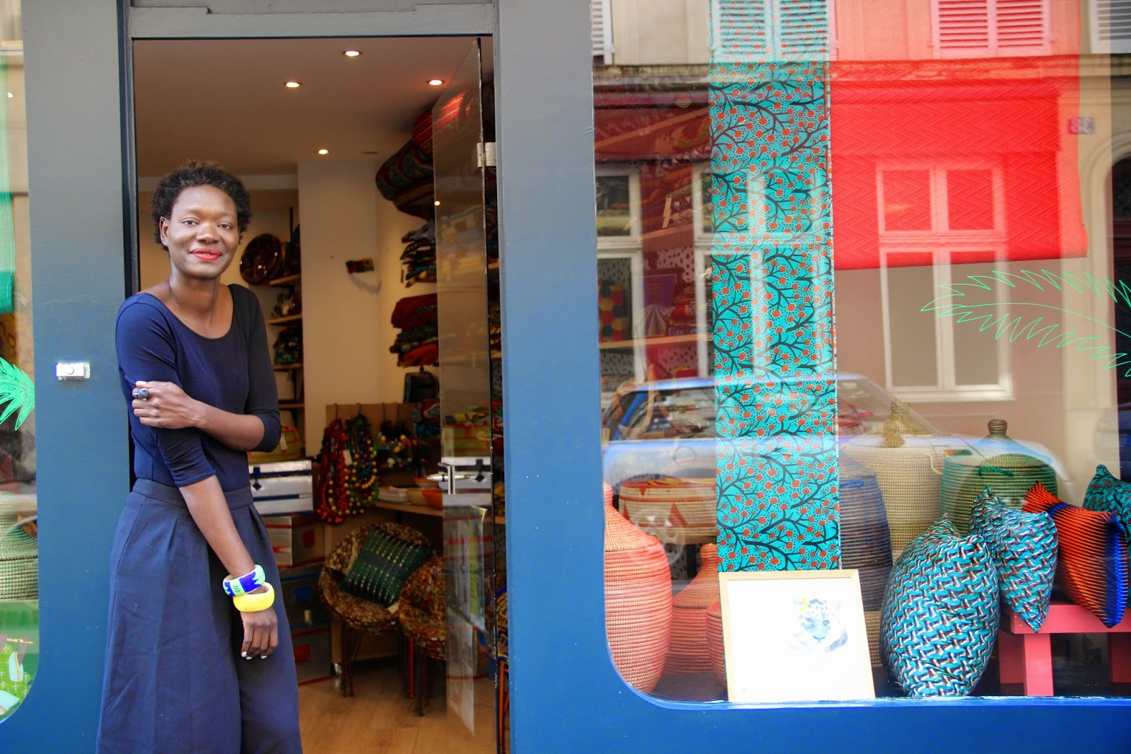 Boutique Deco Paris Nothing But The Wax Keur La Boutique De Deco Africaine A