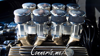 Custom Buick Super Engine Side