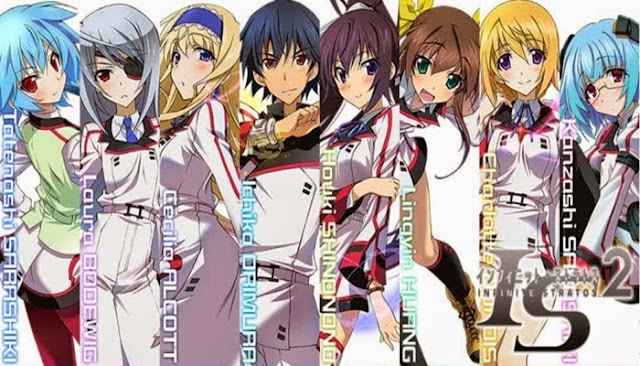 Download Infinite Stratos S2 BD Subtitle Indonesia