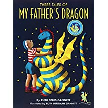 """Kid's Book Group Reads """"Three Tales of My Father's Dragon"""" for December 19, 2018"""