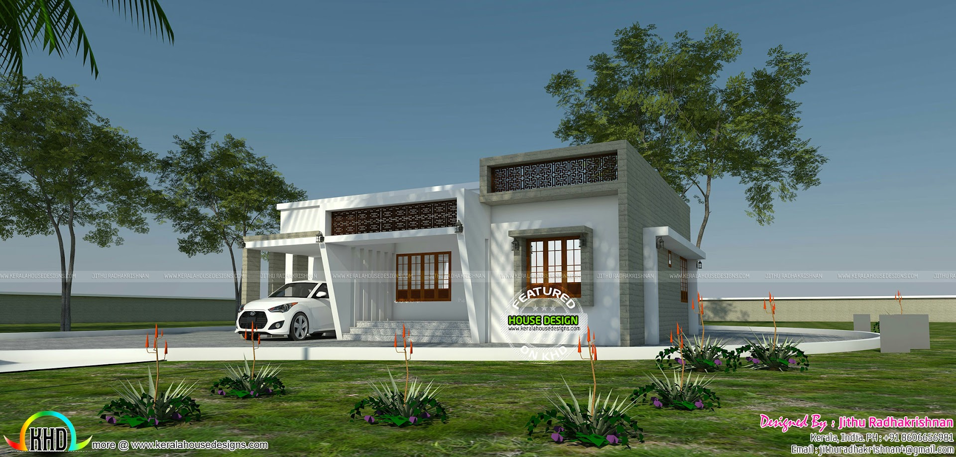 Home design by Jithu Radhakrishnan - Kerala home design and floor ...
