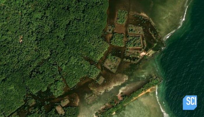 ¿Podría ser esto la Atlántida? Las increíbles ruinas de una isla descubierta en medio del Pacífico provocan que sea la mítica ciudad antigua perdida.