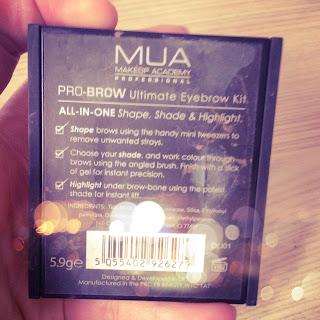 MUA Pro-Brow Kit