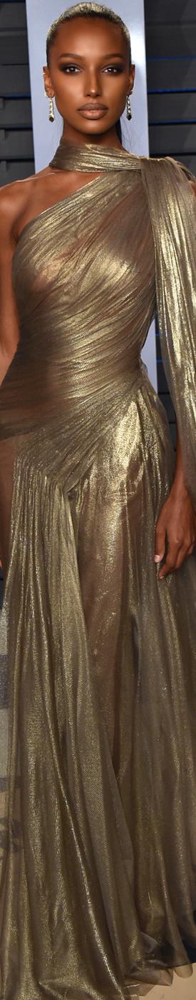 Jasmine Tookes 2018 Vanity Fair Oscar Party