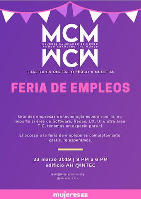 Feria de Empleos Mujeres en TIC RD