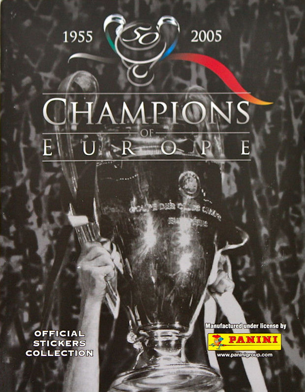 PANINI 317 Marvin Andrews Rangers FC CHAMPIONS EUROPE 1955-2005