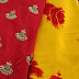 Satin Shibori Saree with designer blouses