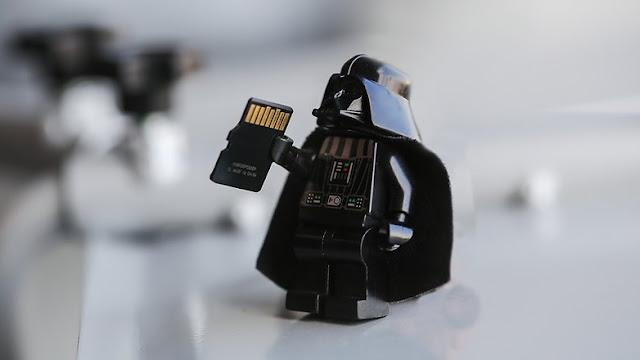 Darth Vader micro SD KepoinIT