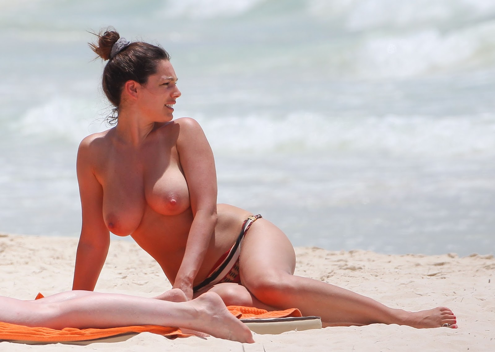 Agree with kelly brook nude beach talk. Quite