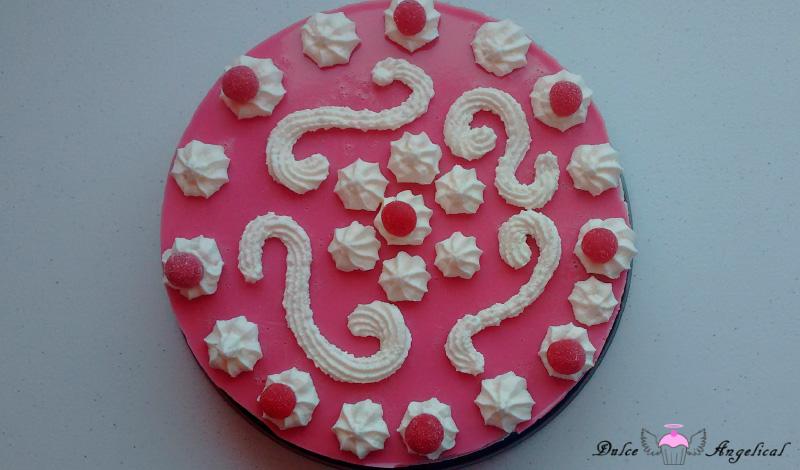Receta de la tarta de caramelos pikotas
