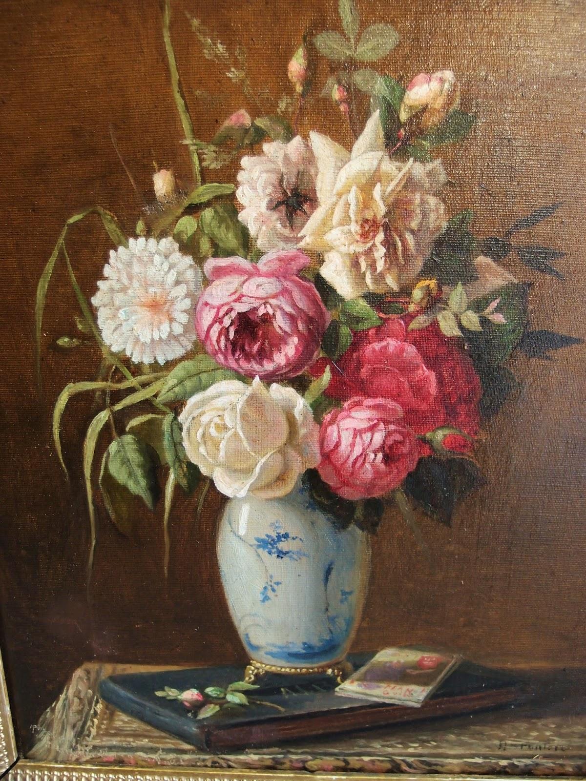 Ortensie dipinte ad olio idee per interni e mobili for Quadri fiori olio