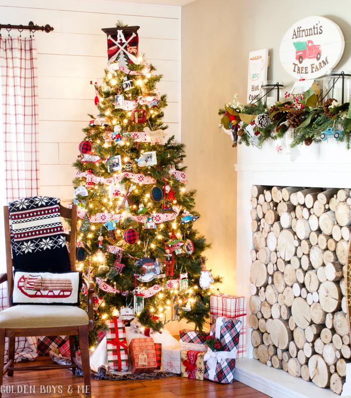 christmas decoration tree holidays theme home