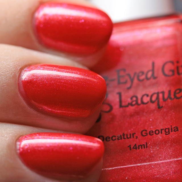 Blue-Eyed Girl Lacquer It's Good