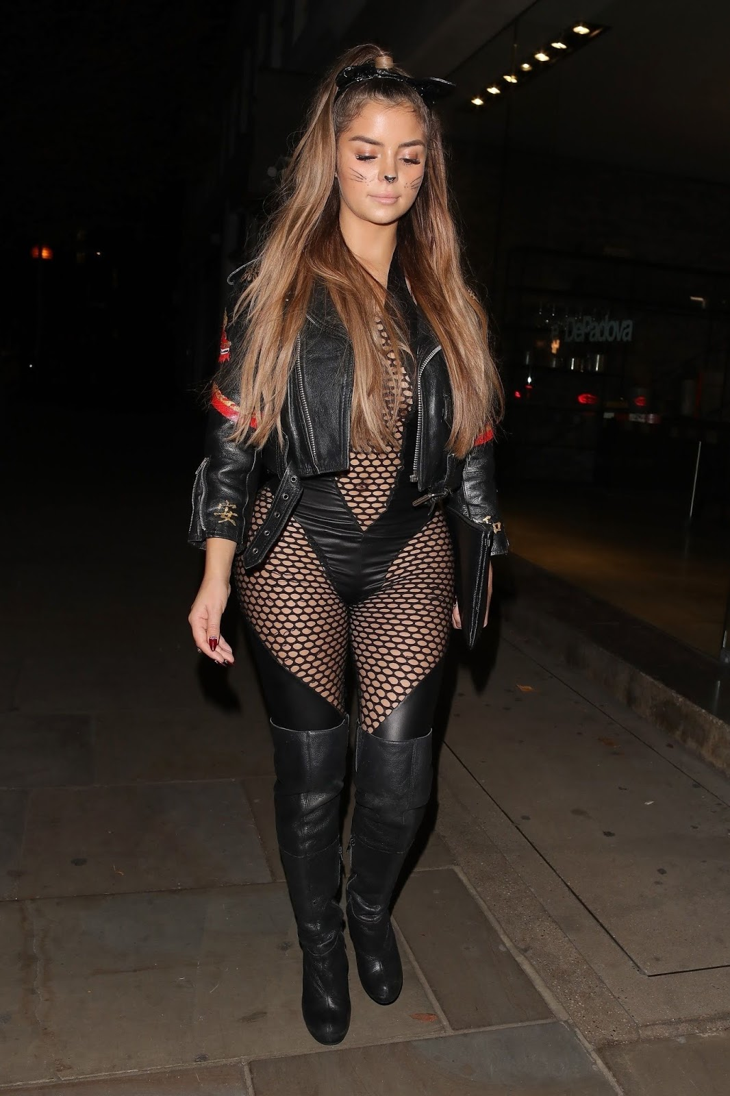 Demi Rose – a Halloween party at Ours in London 10/27/18