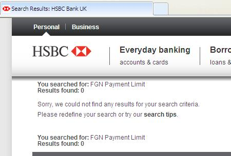 hsbc online banking money transfer limit