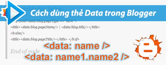 Cách phân biệt các loại thẻ data thường gặp trên blogger