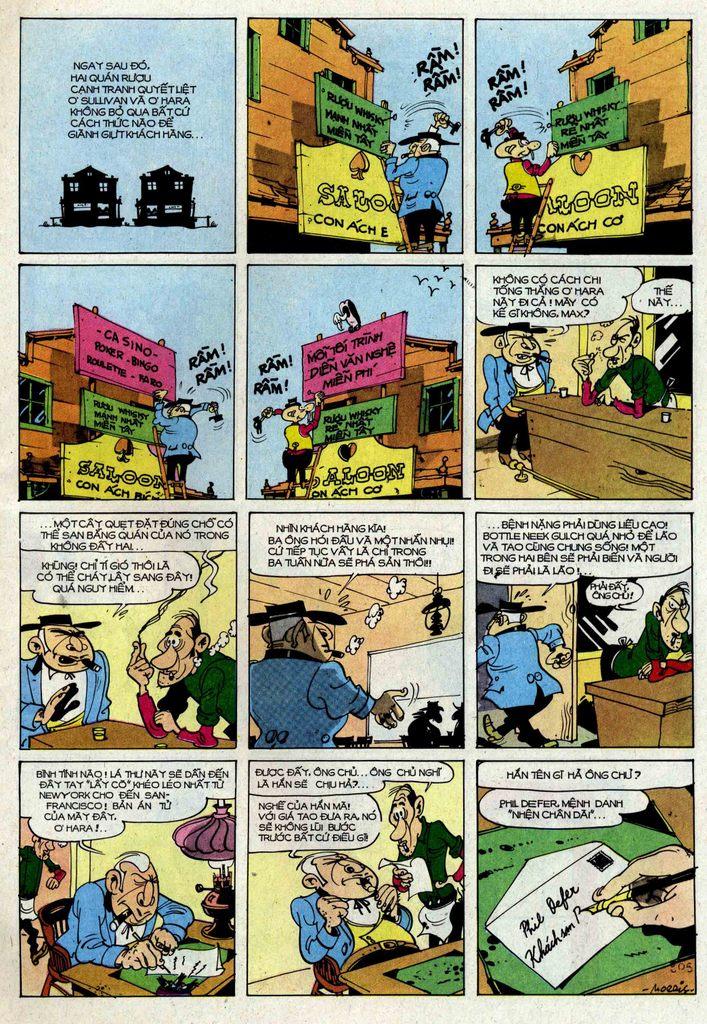 Lucky Luke tập 25 - nhện chân dài trang 5