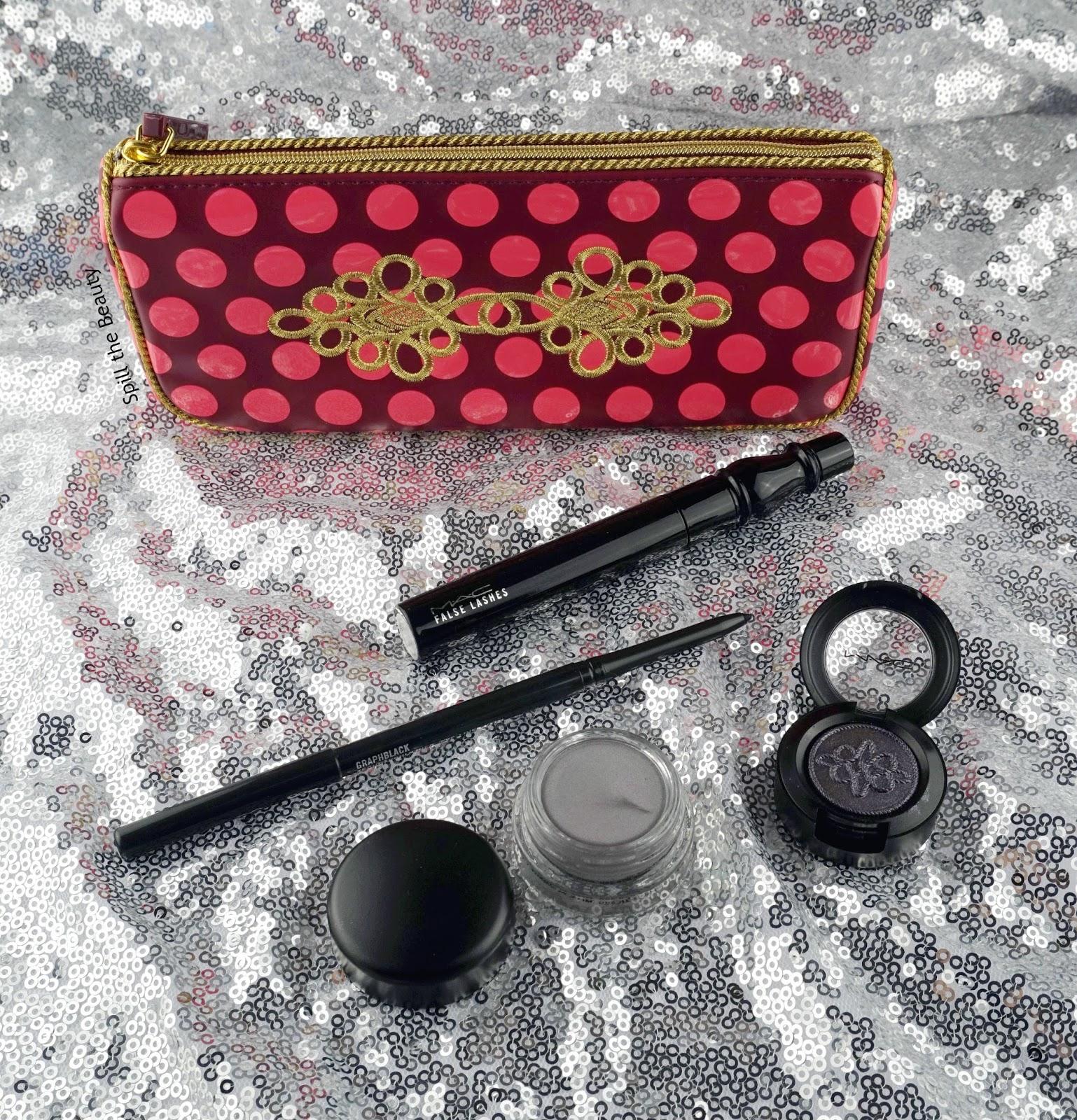 mac nutcracker sweet smoky eye bag review