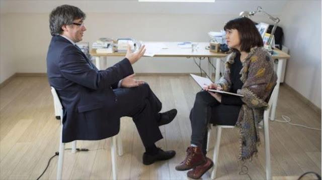 """Puigdemont: Rajoy trata a independentistas como """"delincuentes"""""""