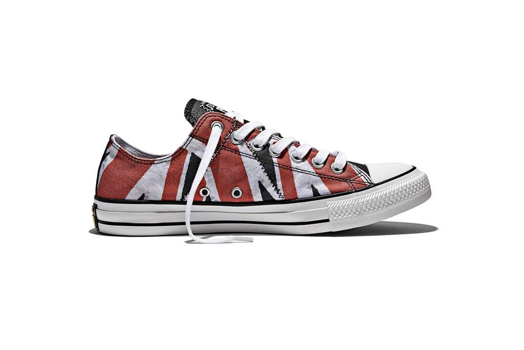 timeless design 35057 e6e5e The collection features colors, materials and graphics inspired by the  band s iconic style and album art. The footwear collection features details  such as ...