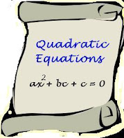CBSE Class 10 - Maths - Quadratic Equations - Summary