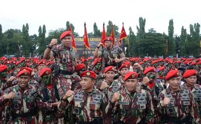 Mayjen TNI I Nyoman Cantiasa Resmi Jabat Komandan Jenderal Kopassus