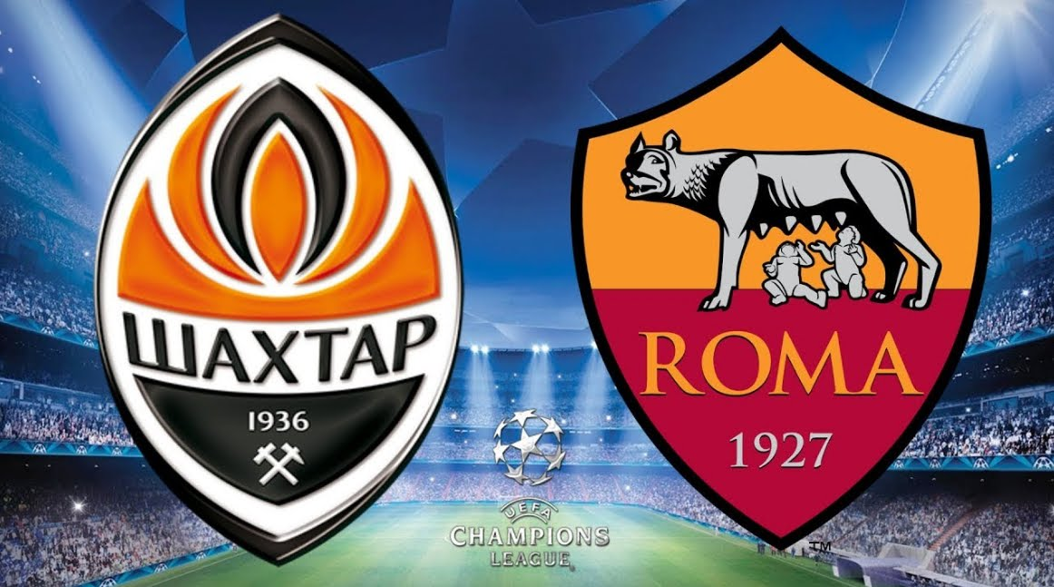 Dove Vedere Shakhtar-Roma Streaming Rojadirecta Video Diretta Online | Calcio Champions League