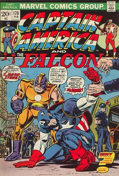 Captain America and the Falcon #170