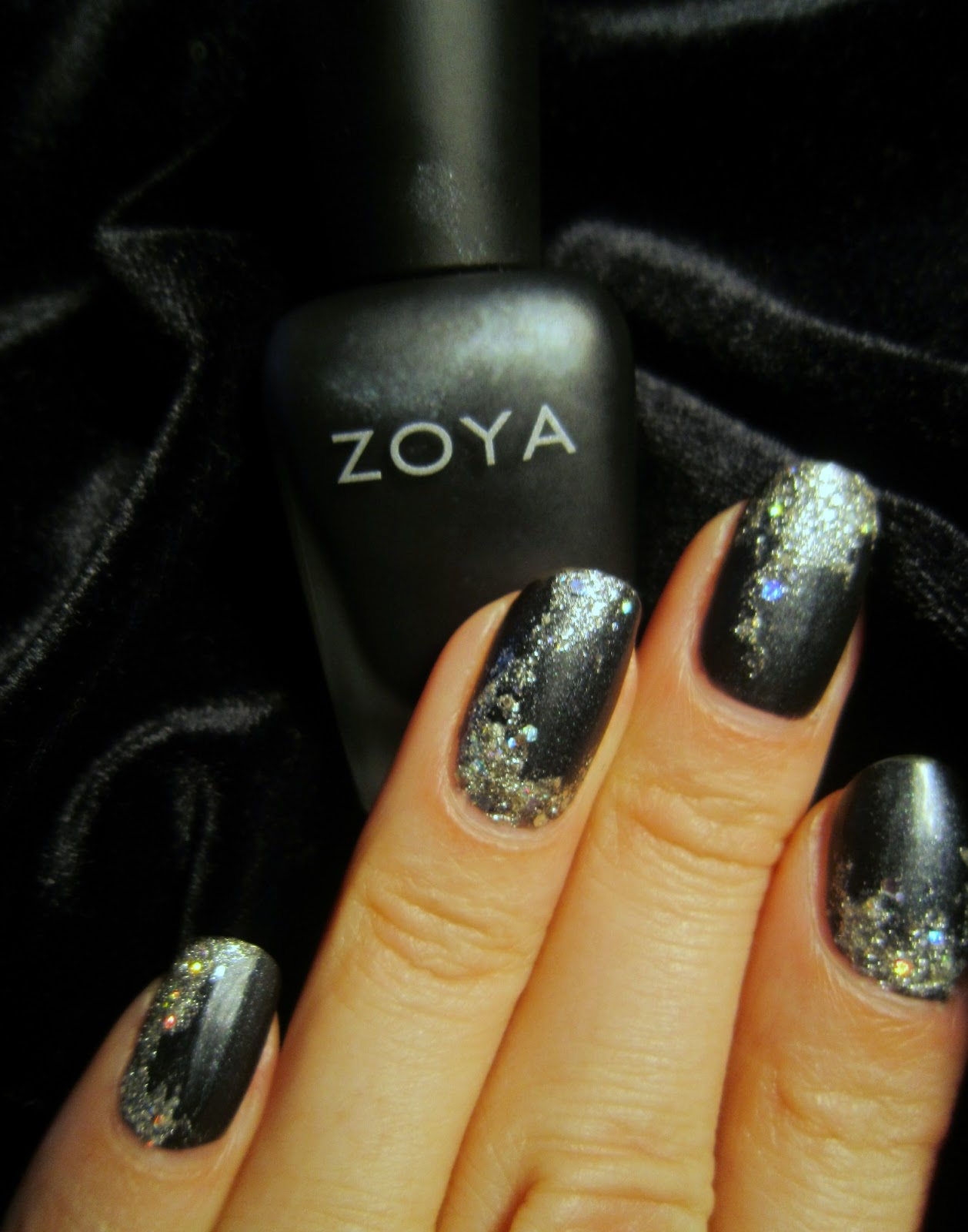 Concrete And Nail Polish: New Year's Eve Nails