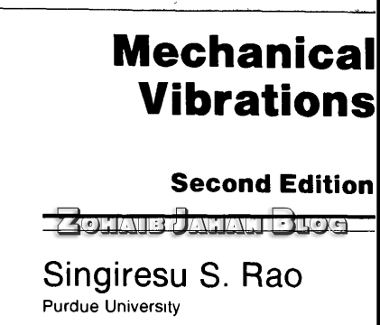 Download Vibration of mechanical systems easily in PDF format for free