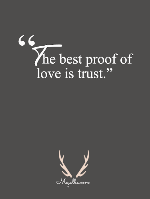 The Best Proof Love Quotes