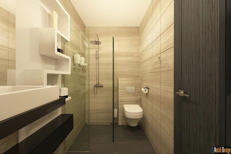 Vila cu 5 camere amenajata in stil modern - Design interior living Bucuresti.