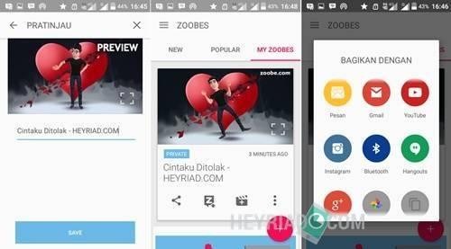 Cara Membuat Video Animasi Menggunakan Aplikasi Zoobe