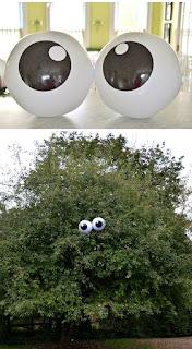 decorazione halloween palle degli occhi immagine