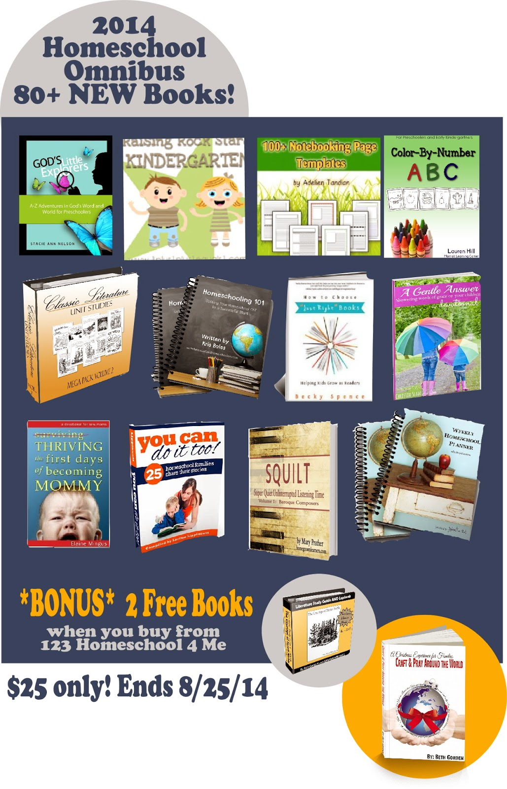 Get 2 BONUS Books when purchasing your 2014 Homeschool Omnibus HERE!