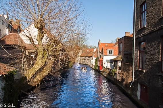 Fotografia de canal de Brujas