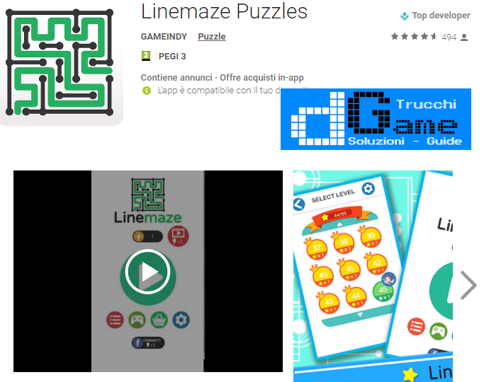Trucchi Linemaze Puzzles Mod Apk Android v1.0.0