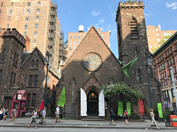 lugares secretos en Nueva York limelight church