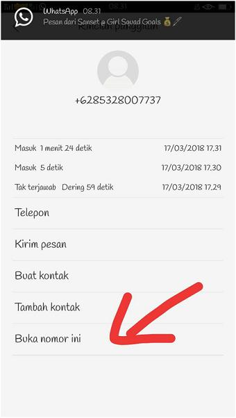Cara membuka no hp yang diblokir (SMS dan telepon) di Android
