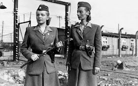 Irma Grese Ilse Koch female camp guards worldwartwo.filminspector.com