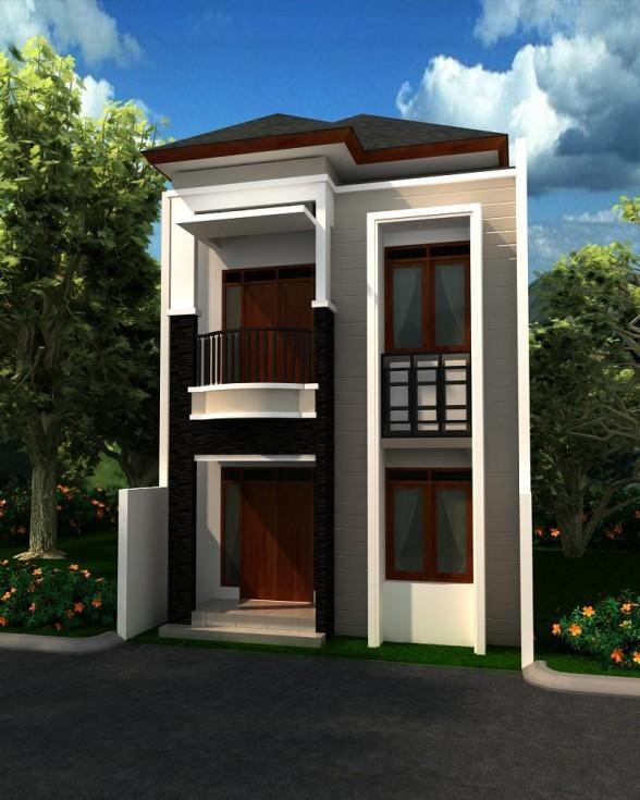 model rumah minimalis 2 lantai 1