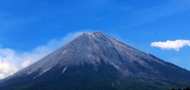daftar gunung berapi di pulau jawa