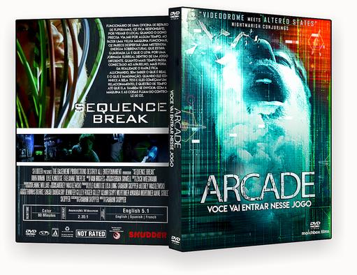 CAPA DVD – Arcade Você Vai Entrar Nesse Jogo AUTORADO