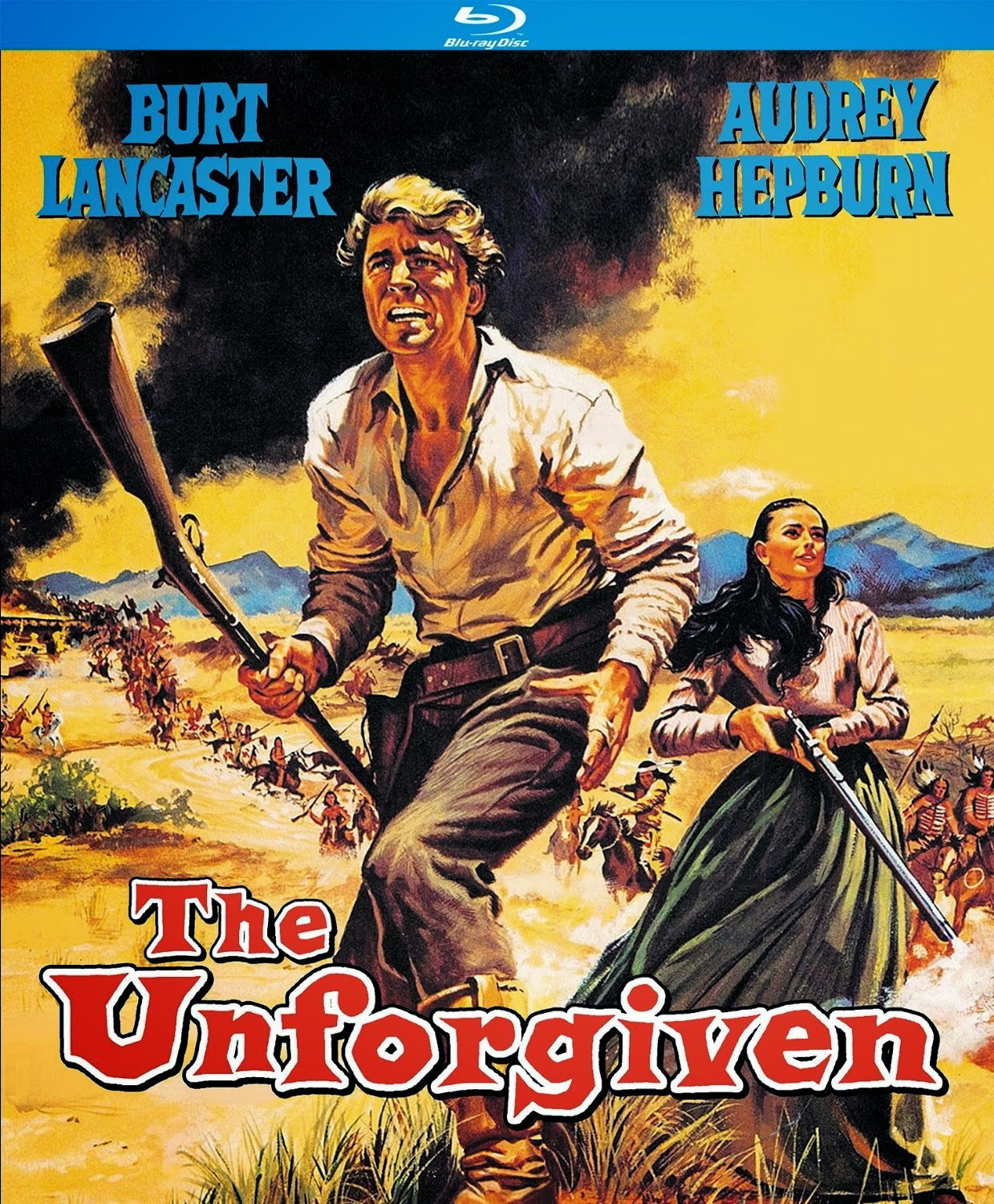 THE UNFORGIVEN (1960; John Huston