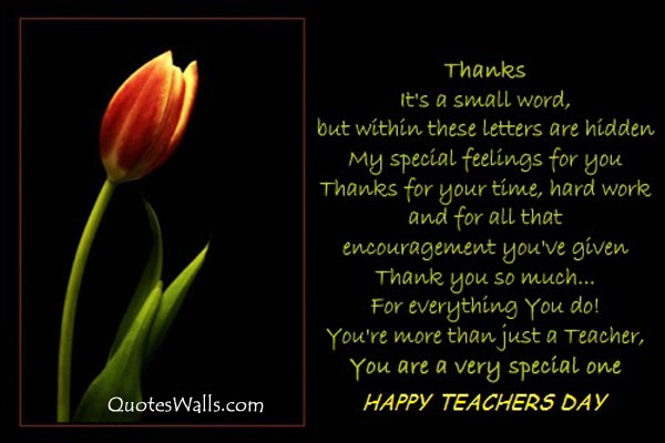 Heart Touching Quotes For Teachers Day